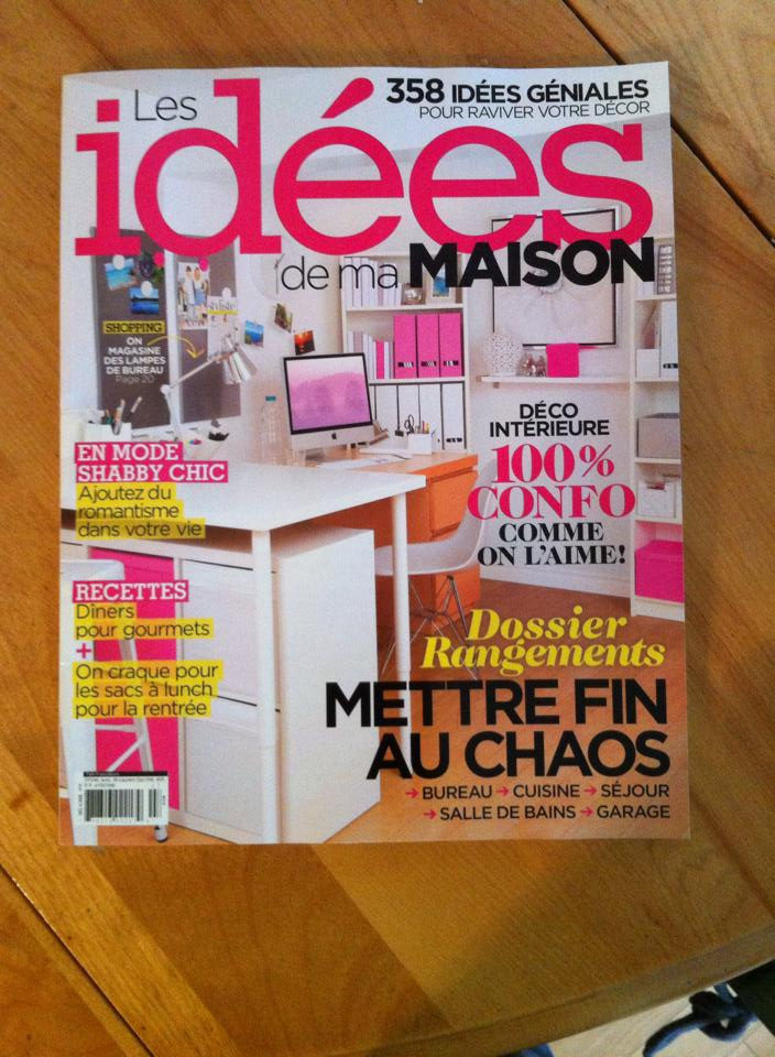 La page 87 du magazine de Septembre 2014 de Les Idées de ma maison