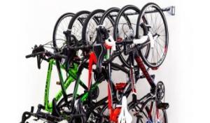 Photo d'un système de rangement pour vélos Monkey Bars