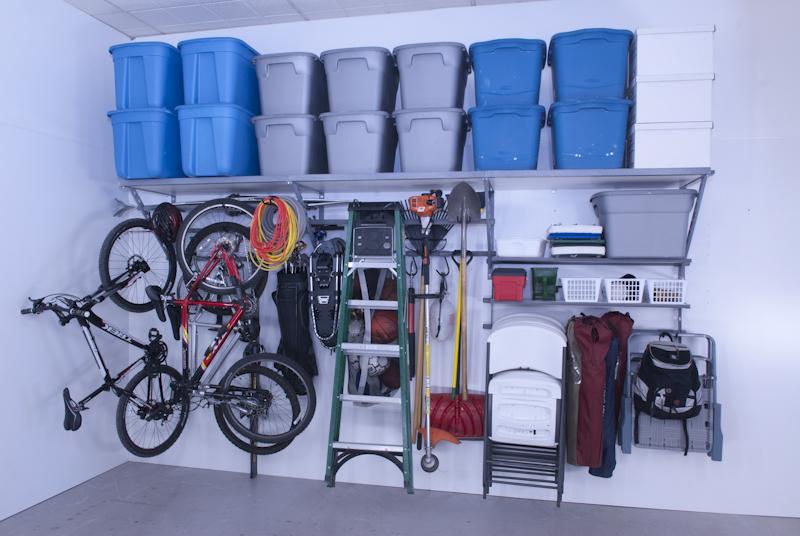 Rangement pour garage accroo rangement qu bec for Cabanon de rangement