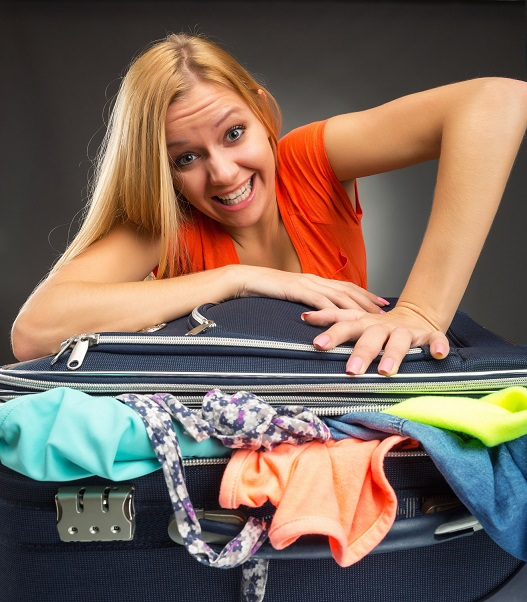 trucs pour faire la valise parfaite