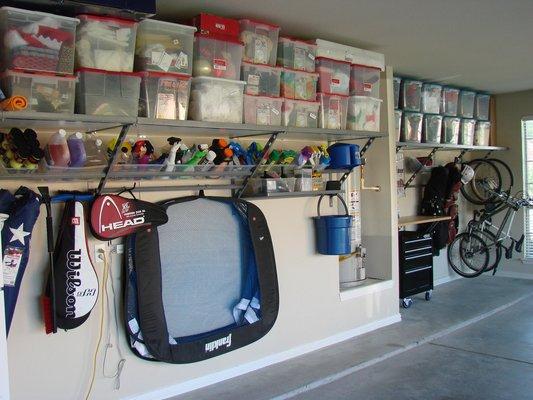 Garage accroo rangement efficace syst me de rangement - Systeme rangement garage ...